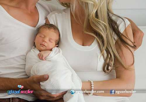 yeni doğan bebek tebrik mesajlı